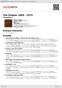 Digitální booklet (A4) The Singles 1969 - 1973