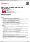 Digitální booklet (A4) Party Tyme Karaoke - R&B Male Hits 3