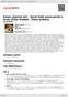 Digitální booklet (A4) Konec ptačích árií - Karel Gott zpívá písně s texty Jiřího Štaidla - Zlatá kolekce