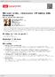 Digitální booklet (A4) Maison vide, chansons (Prázdný dům, šansony)