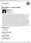 Digitální booklet (A4) Alena Míková - portrét sólistky