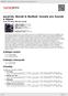 Digitální booklet (A4) Janáček, Novák & Nedbal: Sonáty pro housle a klavír