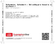 Zadní strana obalu CD Schumann, Schubert: Skladby pro housle a orchestr