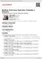 Digitální booklet (A4) Nedbal: Princezna Hyacinta, Pohádka o Honzovi