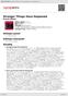Digitální booklet (A4) Stranger Things Have Happened