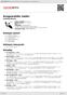 Digitální booklet (A4) Ausgewahlte Lieder