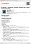 Digitální booklet (A4) Brahms 2. Sinfonie, Franck Sinfonie in d-moll