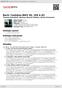 Digitální booklet (A4) Bach: Cantatas BWV 56, 158 & 82