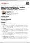 Digitální booklet (A4) Elgar: Violin Concerto, op.61 / Vaughan Williams: The Lark Ascending