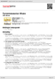 Digitální booklet (A4) Tyrannosaurus Hives