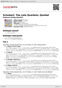 Digitální booklet (A4) Schubert: The Late Quartets; Quintet