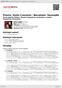 Digitální booklet (A4) Previn: Violin Concerto / Bernstein: Serenade