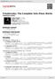 Digitální booklet (A4) Tchaikovsky: The Complete Solo Piano Works