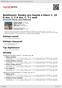 Digitální booklet (A4) Beethoven: Sonáty pro housle a klavír č. 10 A dur, č. 2 A dur, č. 7 c moll