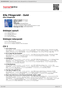 Digitální booklet (A4) Ella Fitzgerald - Gold