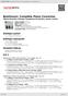 Digitální booklet (A4) Beethoven: Complete Piano Concertos