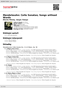 Digitální booklet (A4) Mendelssohn: Cello Sonatas; Songs Without Words