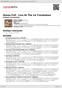 Digitální booklet (A4) House Full - Live At The LA Troubadour