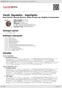 Digitální booklet (A4) Verdi: Rigoletto - highlights