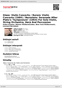 "Digitální booklet (A4) Glass: Violin Concerto / Rorem: Violin Concerto (1984) / Bernstein: Serenade After Plato's ""Symposium"" (1954) For Solo Violin, String Orchestra, Harp And Percussion"