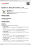 Digitální booklet (A4) Beethoven: Klavierkonzert Nr. 3 & 4