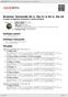 Digitální booklet (A4) Brahms: Serenade Nr.1, Op.11 & Nr.2, Op.16