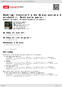Digitální booklet (A4) Rodrigo: Concierto de Aranjuez pro kytaru a orchestr, Fantasia para...