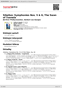Digitální booklet (A4) Sibelius: Symphonies Nos. 5 & 6; The Swan of Tuonela