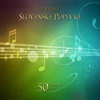 Přední strana obalu CD Slovenske popevke 50 let