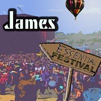 Přední strana obalu CD Essential Festival: James [International Version]