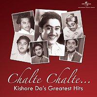 Přední strana obalu CD Chalte Chalte…Kishore Da's Greatest Hits