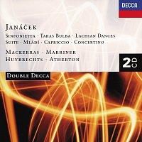 Sir Charles Mackerras, Sir Neville Marriner, David Atherton, Francois Huybrechts – Janácek: Sinfonietta/Taras Bulba/Mládi etc. [2 CDs]