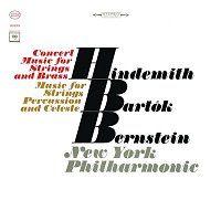 Leonard Bernstein, Paul Hindemith, New York Philharmonic Orchestra – Bartók: Music for Strings, Percussion and Celesta, Sz. 106 - Hindemith: Concert Music For String Orchestra And Brass, Op. 50 (Remastered)