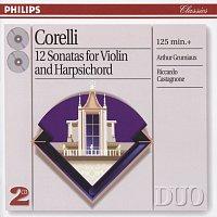 Arthur Grumiaux, Riccardo Castagnone – Corelli: 12 Sonatas for violin & harpsichord
