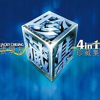 Přední strana obalu CD Jacky Cheung Gold Disc Compilation Collection