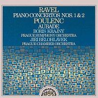 Boris Krajný, Symfonický orchestr hl.m. Prahy (FOK), Jiří Bělohlávek – Ravel, Poulenc: Klavírní koncerty - Aubade