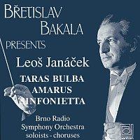 Přední strana obalu CD Janáček: Taras Bulba, Amarus, Sinfonietta