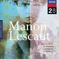 Přední strana obalu CD Puccini: Manon Lescaut