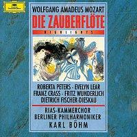RIAS Kammerchor, Berliner Philharmoniker, Karl Bohm – Mozart: Die Zauberflote K620 - Highlights