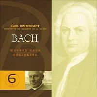 Přední strana obalu CD J.S. Bach: Oeuvres pour orchestre