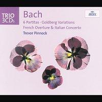Přední strana obalu CD Bach: 6 Partitas; Goldberg Variations; French Overture; Italian Concerto