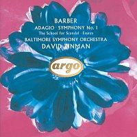 Baltimore Symphony Orchestra, David Zinman – Barber: Adagio; Symphony No.1 etc.