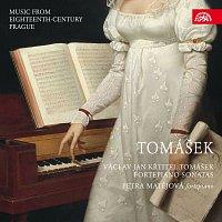Přední strana obalu CD Tomášek: Klavírní sonáty