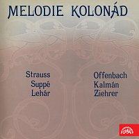 Operetní a Symfonický studiový orchestr/Vladimír Válek – Melodie kolonád (Strauss, Suppé, Lehár, Offenbach, Kálmán, Ziehrer)