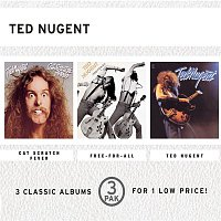 Ted Nugent – Cat Scratch Fever/Free-For-All/Ted Nugent (3 Pak)