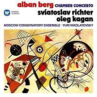 Sviatoslav Richter, Oleg Kagan, Moscow Conservatory Ensemble & Yuri Nikolayevsky – Berg: Chamber Concerto for Piano, Violin and 13 Wind Instruments