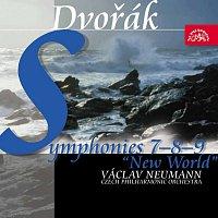 Přední strana obalu CD Dvořák: Symfonie č. 7-9