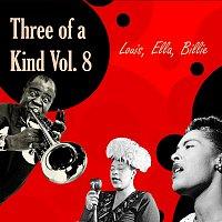 Přední strana obalu CD Three of a Kind Vol.  8