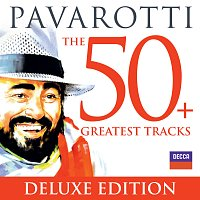 Přední strana obalu CD Pavarotti The 50 Greatest Tracks