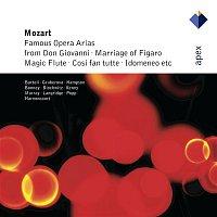 Barbara Bonney, Cecilia Bartoli, Thomas Hampson, Nikolaus Harnoncourt & Concentus musicus Wien – Mozart : Famous Opera Arias  -  Apex